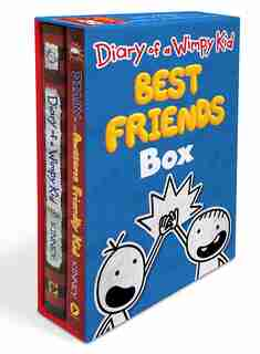 Diary Of A Wimpy Kid: Best Friends Box (diary Of A Wimpy Kid Book 1 And Diary Of An Awesome Friendly Kid) by Jeff Kinney