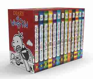Diary Of A Wimpy Kid Box Of Books (1-13) de Jeff Kinney