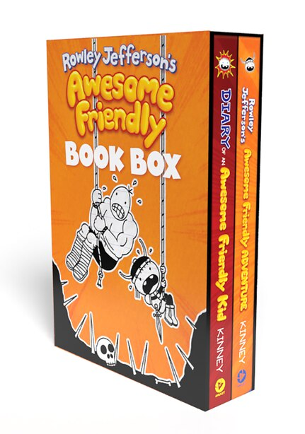 Diary Of A Wimpy Kid: Awesome Friendly Box by Jeff Kinney