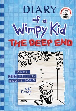 Book The Deep End (diary Of A Wimpy Kid Book 15) (exclusive Edition) by Jeff Kinney