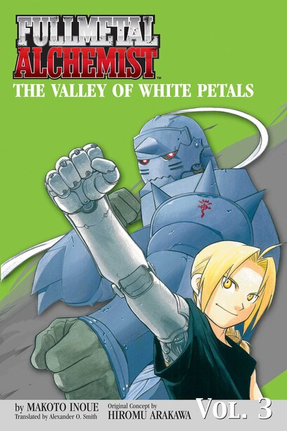 Fullmetal Alchemist: The Valley Of White Petals (novel) by Makoto Inoue