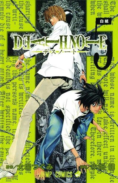 Death Note, Vol. 5: Whiteout by Tsugumi Ohba
