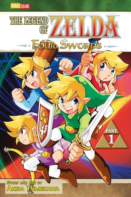 Book The Legend of Zelda, Vol. 6: Four Swords - Part 1 by Akira Himekawa