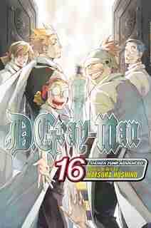 D.gray-man, Vol. 16: Blood & Chains by Katsura Hoshino