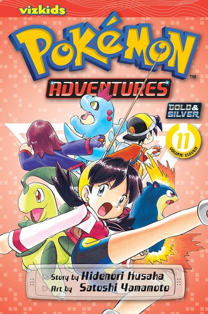 Pokémon Adventures (Gold and Silver), Vol. 11 by Hidenori Kusaka