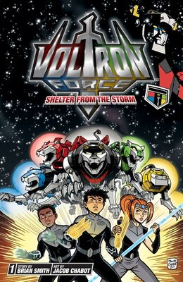 Book Voltron Force, Vol. 1: Shelter from the Storm by Brian Smith