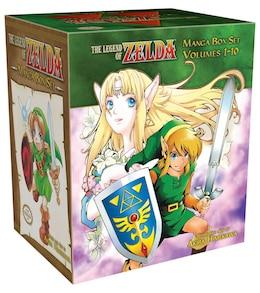 Book The Legend of Zelda Complete Box Set by Akira Himekawa