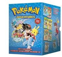 Pokémon Adventures Red & Blue Box Set (set Includes Vols. 1-7)