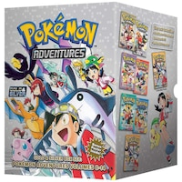 Pokémon Adventures Gold & Silver Box Set (Set Includes Vols. 8-14)