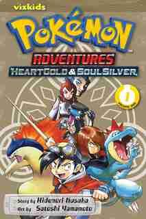 Pokémon Adventures: Heart Gold Soul Silver, Vol. 1 by Hidenori Kusaka