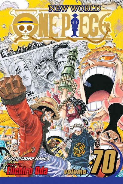 One Piece, Vol. 70 by Eiichiro Oda
