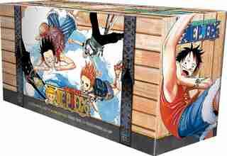 One Piece Box Set 2: Skypeia and Water Seven: Volumes 24-46 with Premium de Eiichiro Oda