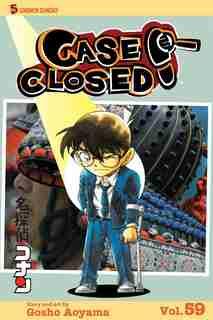 Case Closed, Vol. 59: Hair Today, Gone Tomorrow by Gosho Aoyama