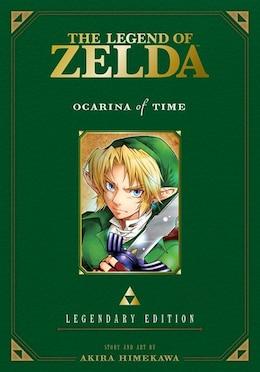 Book The Legend of Zelda: Ocarina of Time -Legendary Edition-: Ocarina of Time Parts 1 & 2 by Akira Himekawa