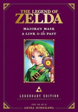 Book The Legend of Zelda: Majora's Mask / A Link to the Past -Legendary Edition-: Majora's Mask/A Link… by Akira Himekawa