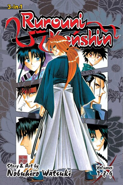 Rurouni Kenshin (3-in-1 Edition), Vol. 3: Includes Vols. 7, 8 & 9 by Nobuhiro Watsuki