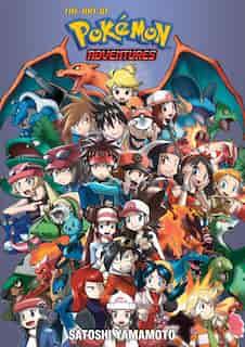 Pokémon Adventures 20th Anniversary Illustration Book: The Art of Pokémon Adventures by Satoshi Yamamoto