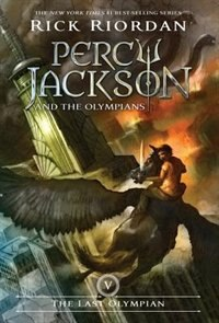 Book Percy Jackson And The Olympians, Book Five The Last Olympian by Rick Riordan