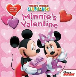 Book Mickey Mouse Clubhouse Minnie's Valentine by Sheila Sweeny Disney Book Group
