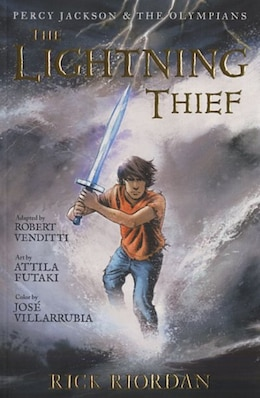 Book Percy Jackson And The Olympians The Lightning Thief: The Graphic Novel by Rick Riordan