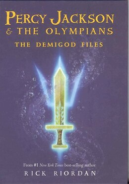 Book Percy Jackson: The Demigod Files: A Survival Guide to Greek Gods and Monsters by Rick Riordan