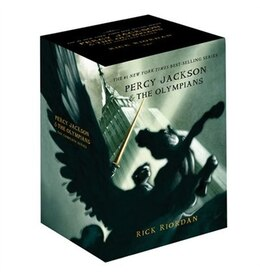 Book Percy Jackson pbk 5-book boxed set by Rick Riordan