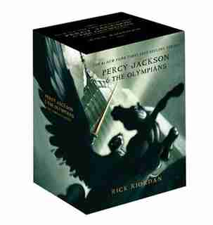 Percy Jackson pbk 5-book boxed set de Rick Riordan
