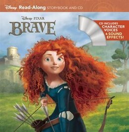 Book Brave Read-along Storybook And Cd by Disney Book Group