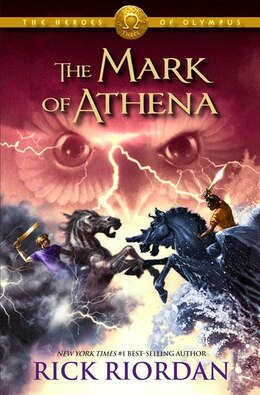 Book The Heroes Of Olympus - Book Three The Mark Of Athena by Rick Riordan