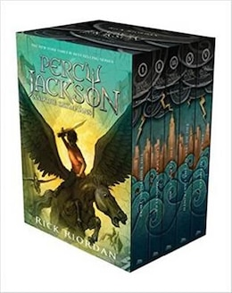 Book Percy Jackson and the Olympians Hardcover Boxed Set by Rick Riordan