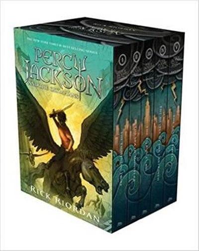 Percy Jackson and the Olympians Hardcover Boxed Set de Rick Riordan