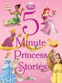 Book 5-Minute Princess Stories by Disney Books