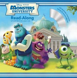 Book Monsters University Read-along Storybook And Cd by Calliope Disney Book Group