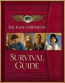 Book The Kane Chronicles Survival Guide by Rick Riordan