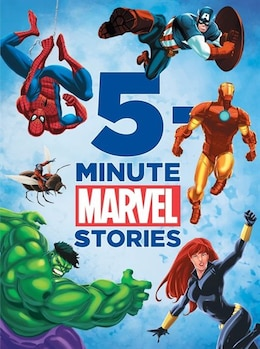 Book 5-minute Marvel Stories by Dbg