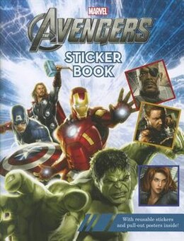 Book The Avengers Reusable Sticker Book by Disney Book Group