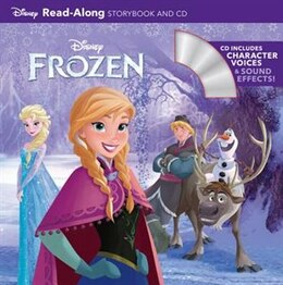 Book Frozen Read-along Storybook And Cd by Al Disney Book Group
