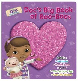 Book Doc Mcstuffins Doc's Big Book Of Boo-boos by Disney Book Group