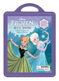 Book Frozen Frozen Book And Magnetic Play Set: A Dress-up Book And Magnetic Play Set by Disney Book Group