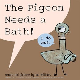 Book The Pigeon Needs A Bath! by Mo Willems