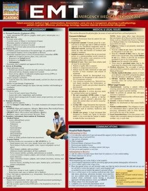 Emt- Emergency Medical Technician by Inc. BarCharts, Inc.