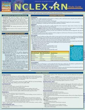 Nclex-rn Study Guide by Inc. BarCharts, Inc.
