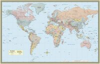 World Map-laminated