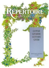 Repertoire for Music Schools: Guitar by Erzsebet Hal Leonard Corp.