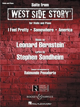 Book West Side Story Suite: for Violin and Piano by Stephen Sondheim