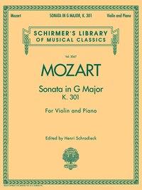 Sonata in G Major, K301: for Violin and Piano