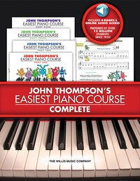 John Thompson's Easiest Piano Course - Complete: 4-Book/4-CD Boxed Set