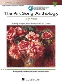 The Art Song Anthology - High Voice: With Online Audio Of Recorded Diction Lessons And Piano…