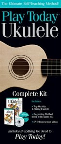 Book Play Ukulele Today! Complete Kit: Includes Everything You Need to Play Today! by Hal Leonard Corp.