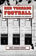 Red Tornado Football by Cecil Eugene Reinke